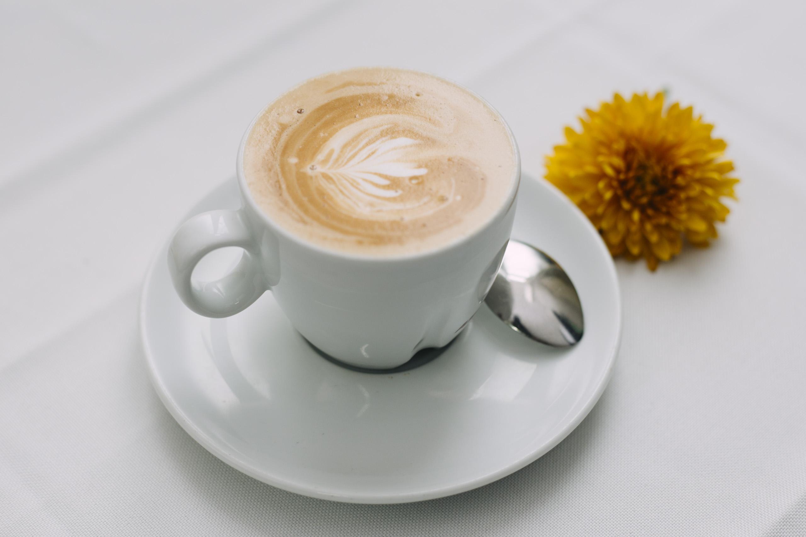 Heißer leckerer Kaffee